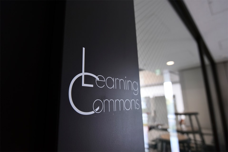 Learning commons 入口